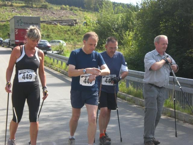Hohe-Bracht-Lauf am 22.08.2009